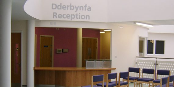 Treharris Primary Medical Centre Reception