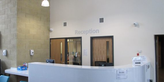 Clipstone Medical Centre Reception