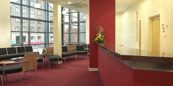 Primary Care Centre Boston Reception