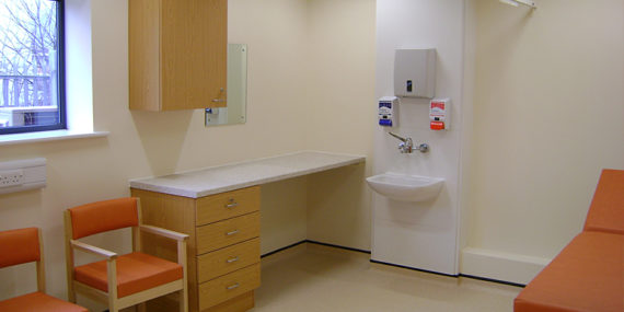 Sloan Medical Centre_Consulting Room